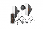 Godox GS-300 WS 3'lü Softbox Paraflaş Set