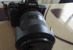 Garantili ve kaskolu  dslr , aynasiz  Sony 7sii ve sony 24-240 mm lens