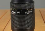 Nikkor 70-210mm f:4-5,6 çok temiz durumdadır.