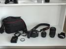 Canon 60d+50mm+18-135mm Sifir ayarinda