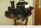 Canon 650d+Tamron 18 270 lens+Ekipman