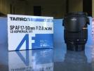 Tamron SP AF17-50mm F/2.8 XR VC,siz