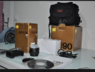 İlk Sahibinden Hobi Amaçlı Tertemiz Nikon D90 (18.270 shutter)