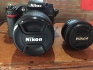 TEMİZ NİKON D7000 18 105, 50mm Komple set 16k