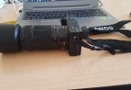 Fırsat ürünü... Sony a6300 + 50 mm f1.8 + 55-210 lens + 16-50 lens + orjinal çanta + nd ve uv filtre