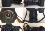 canon eos 6D 24-105 L USM + Hoya üçlü filtre seti + NISSIN Dİ622 mark II flaş