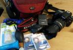 Canon EOS 60D ( 10K ) + Tamron 17-50 Lens + Tripod + Çanta Seti