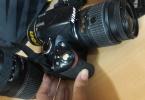 D3200 ve 18-55 , 70-300 lens