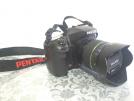 Pentax K20D + 18-55mm Lens + Chinon 50mm f1.4 + 2 Pil Şarj Aleti + Çanta=650TL