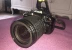 NİKON D5300+18-105 lens Az kullanılmış temiz
