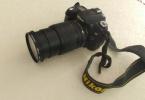 Nicon d90+18-105mm lens çiziksiz tertemiz