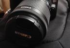 Canon EOS 100D + Canon 18-55 F 1/8 STM + Canon Taşıma Çanta + 8GB Class10 SDHC