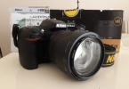 Arayana tertemiz Nikon D7100+ 18-140 lens