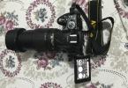 Nikon D5200 ve 18/105 Vr LENS SIFIR KADAR TEMİZ ÇOK AZ KULLANILDI 3 ADET YEDEK BATARYA ÇANTA