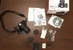 Canon 600D/18-55MM LENS TEMİZ VE KUTULU