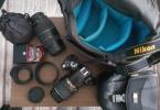 Acill NİKON D3000 + 18-55 Kit Lens + Hediyeler