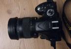 Fırsat! Nikon D5200 + Sigma 17 - 70 F:2.8/4.0 Art Serisi + Nikon 55 - 300 F:4.5/5.6 Tele Lensler, Çanta, Piller, Şarj Aleti İle Birlikte