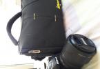 Nikon d7100 + 18-105 lens + çanta + hafıza kartı