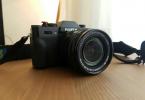 Fujifilm x-t10 18-55mm lens ile garantili çok temiz