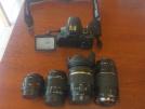 TAMRON 17-50 VC + Canon 75-300mm + TRİPOT