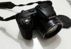 Sıfır ayarında Nikon coolpix l310 , Panasonic dmc-zs20 bedava değerinde