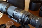 SİGMA 500mm 1:4.5 APO EX DG lens ve APO TELE CONVERTER