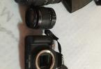 Canon eos 550d +70-300 sigma + 18-55+ çanta + sd kart
