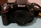 nikon d5100+18-55+55-200 lens+tüm aparatlar+çanta