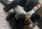 Nikon D610 (47k) Sigma 24-70 f2.8, Nikon 50 mm 1.8 bol ekstralı
