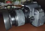 Canon 650D + 18-55