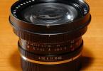 Leica 21mm objektif