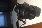 Nikon D5000 18-55 lens ile birlikte + sigma 18-200 lens
