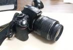 Temiz Nikon D3100 Fotoğraf Makinesi +18-55 lens ŞOK FİYAT