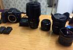 Canon 7d Çok Temiz. Bol Aksesuarlı