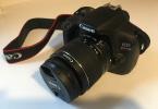 Canon EOS 1300D Rebel T6 18mp 18-35mm lenskamera - kullanılmamış