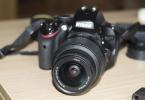 Nikon D5100 ihtiyaçtan satılık pazarlık payı vardır