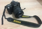 Nikon D90+2 çanta+tripod