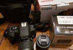Canon EOS 750D 24.2 MP - ve Canon EF-S 18-55 mm