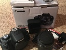CANON EOS 700D ve 18.0MP DIGITAL DSLR CAMERA EF-S 18-55mm