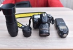 NİKON D7100+Tamron 17-50 2.8+Nikon 50 1.8+Nikon 70-300 lens