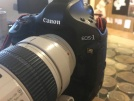 Canon Eos 1Ds Mark III body - lens 70-200mm f 1:2.8