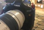 Canon Eos 1Ds Mark III body - lens 70-200mm f 1:2.8