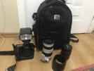 Canon 5D mark2 70/200mm 24/70mm lens 600c flaş tripod