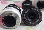 SAMSUNG NX2000+18-55 + 20 mm lens