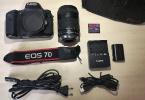 Canon EOS 7D + 18-135mm Lens Digital SLR Fotoğraf Makinesi