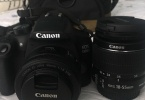 Canon 1300D 18-55 IS II + Canon EF 50mm f/1.8 STM Lens +32 gb +canon cantası+ garanti 16 ay
