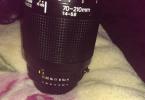Nikon 70-210 Mm 1.4.5.6 lens