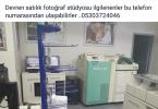 SATILIK FOTOGRAF STÜDYOSU MAKİNALARI