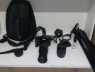 Canon 600d 18-55 ve 75-300lens TRIPODLU ACIL
