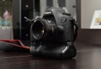 canon 6d + battery grip + 50mm EF 1.8 lens